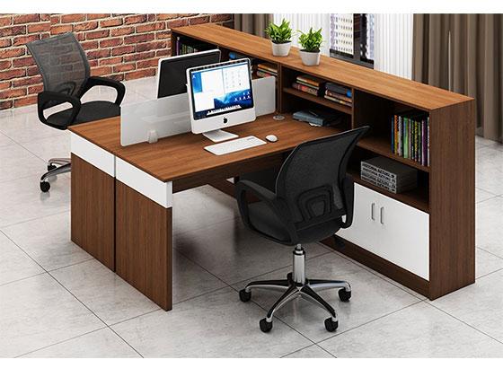 屏风工作位12位 PF160202-隔断式办公桌-品源办公桌