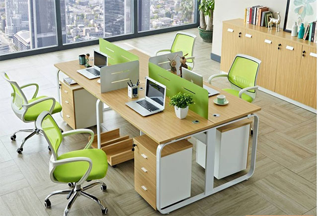 定做职员办公桌-职员区屏风办公桌