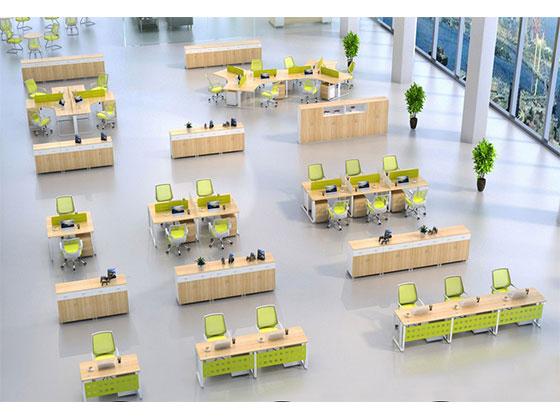 定做职员办公桌-屏风办公桌-品源办公桌