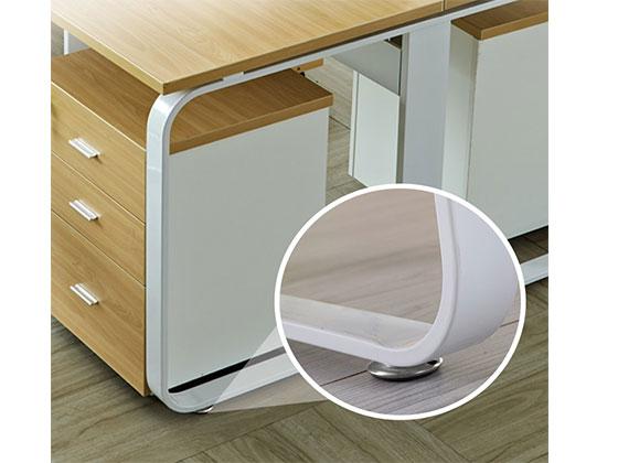 职员区屏风办公桌-隔断式办公桌-品源办公桌