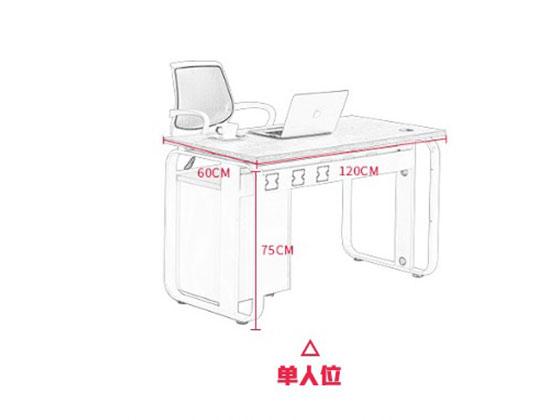 定做职员办公桌尺寸-屏风办公桌-品源办公桌