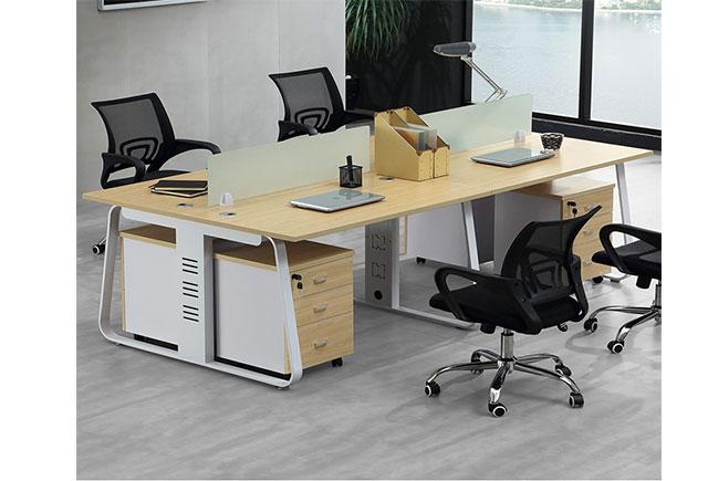 四人组合办公桌尺寸_四人办公桌组合尺寸_四人办公桌尺寸