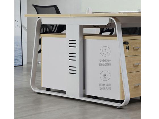 四人办公桌尺寸-屏风式办公桌-品源办公桌