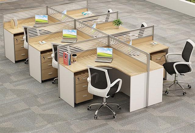 连体办公桌-6人连体办公桌