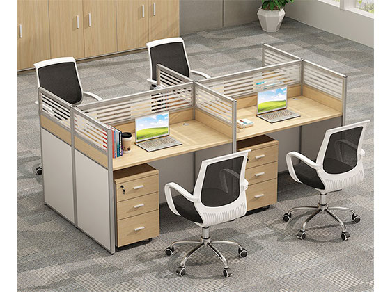 连体办公桌-隔断办公桌-品源办公桌