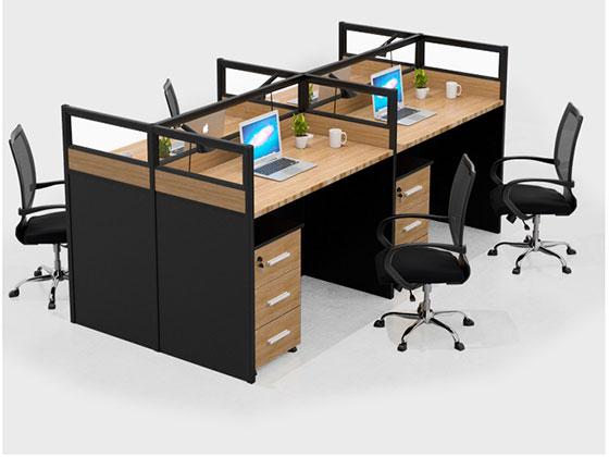 六人办公桌尺寸-屏风办公桌-品源办公桌