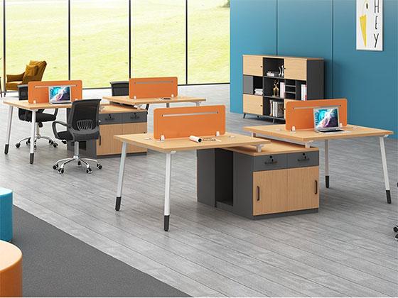 两人位工作位-屏风式办公桌-品源办公桌