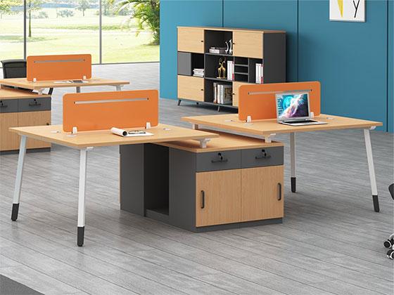 两人位工作位-隔断式办公桌-品源办公桌