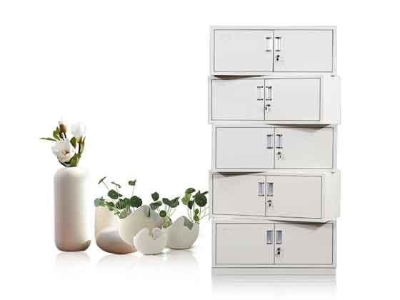 教室铁皮储物柜-定制衣柜厂家-品源文件柜