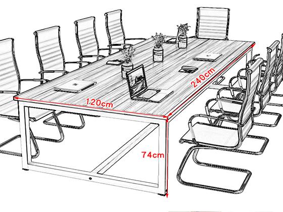 活动会议台尺寸-会议桌-品源会议桌