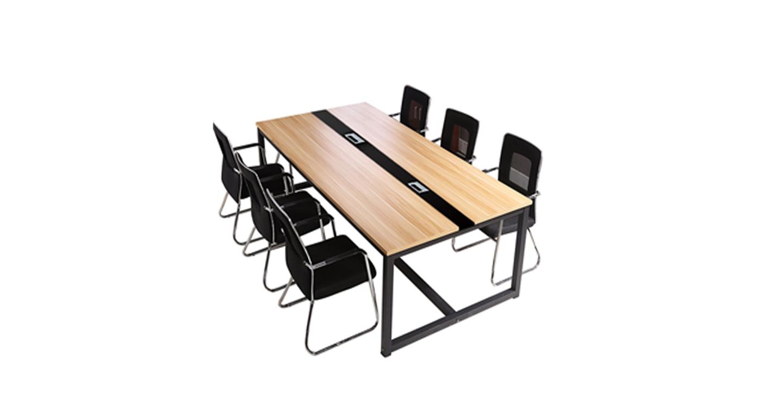 六人会议桌-会议桌-品源会议桌