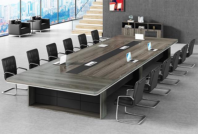 十人会议桌-会议桌-品源会议桌