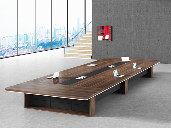 十人会议桌尺寸-会议桌-品源会议桌