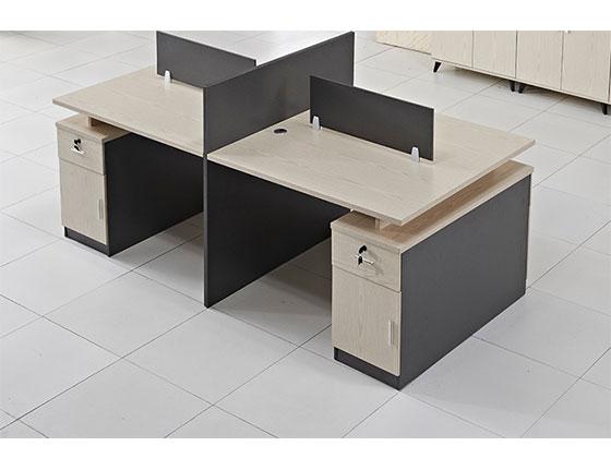 十字办公卡位-屏风办公桌-品源办公桌
