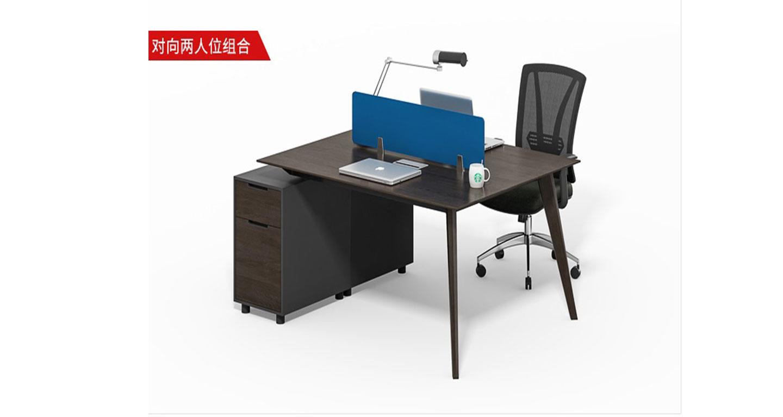 职员单人办公桌-屏风办公桌-品源办公桌
