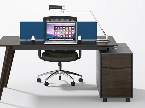 职员办公桌定制-隔断式办公桌-品源办公桌