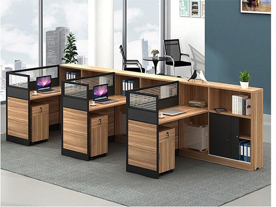 两人办公桌-屏风办公桌-品源办公桌
