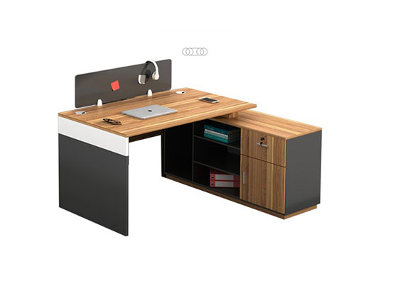 两人位对桌-隔断办公桌-品源办公桌