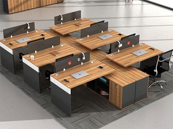 两人办公桌-隔断式办公桌-品源办公桌