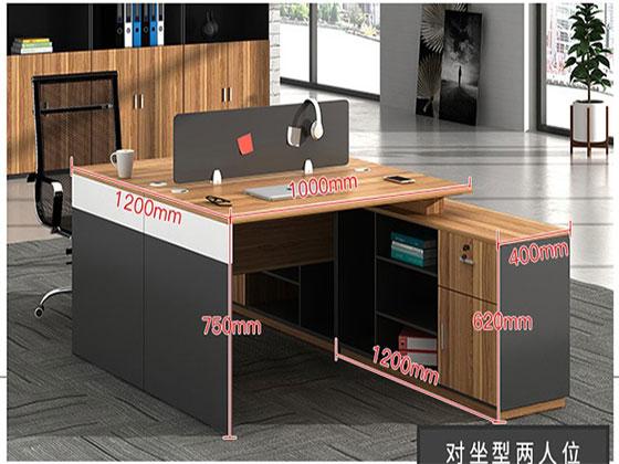 两人位屏风办公桌尺寸-屏风办公桌-品源办公桌