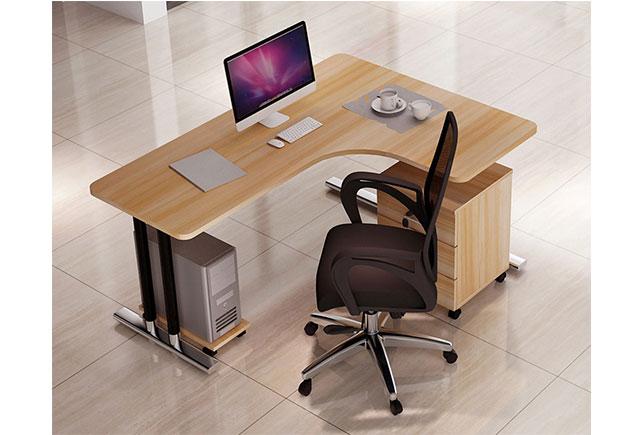 单人位屏风工位_单人位屏风办公桌_单人隔断办公桌