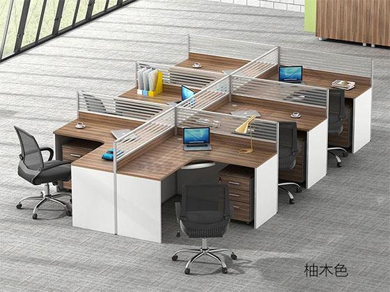 隔音板屏风工位-隔断办公桌-品源办公桌