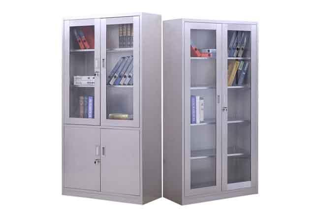 办公家具钢制文件柜_办公柜钢制_不锈钢隔断柜定制