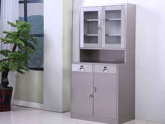 不锈钢隔断柜定制-办公文件柜-品源文件柜