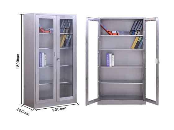 不锈钢隔断柜定制尺寸-办公室文件柜-品源文件柜