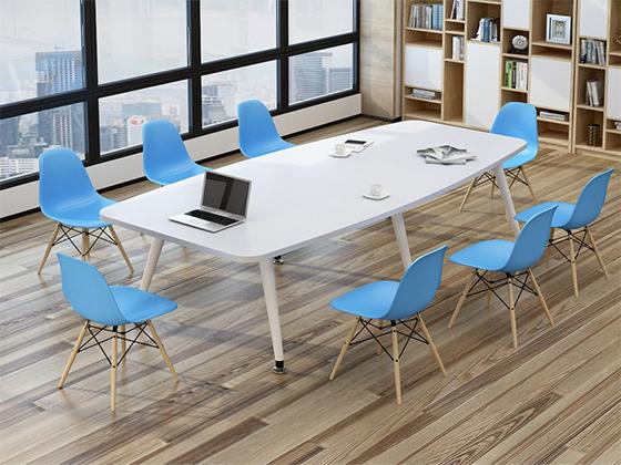 8米长板式会议桌-办公室会议桌-品源办公室会议桌