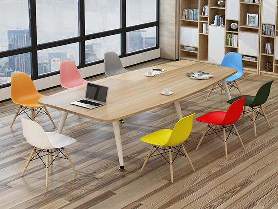 8米长板式会议桌-会议桌定制-品源会议桌
