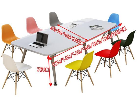 8米长板式会议桌-会议桌-品源会议桌