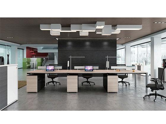 公司办公桌尺寸-屏风式办公桌-品源办公桌