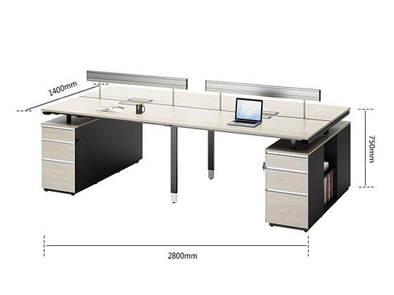 公司办公桌定做尺寸-屏风办公桌-品源办公桌