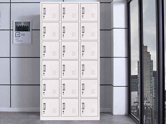 六门宿舍员工储物柜-文件柜定制-品源文件柜