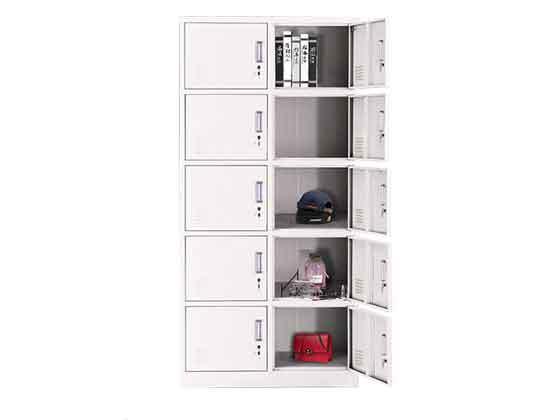 彩色铁皮更衣柜-文件柜定制-品源文件柜