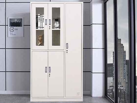 彩色员工更衣柜-定制衣柜厂家-品源文件柜