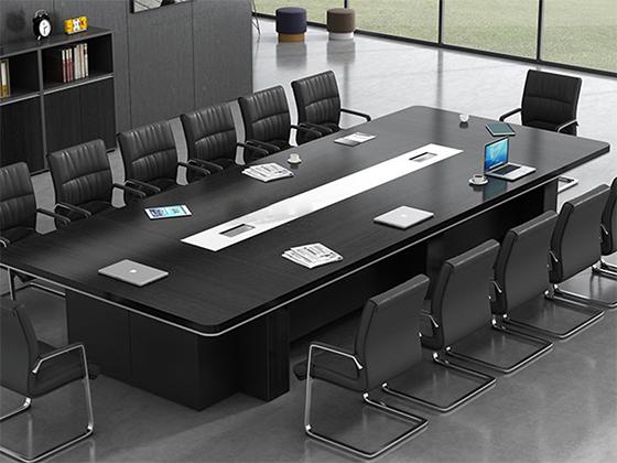 10人会议桌标准尺寸-办公室会议桌-品源办公室会议桌