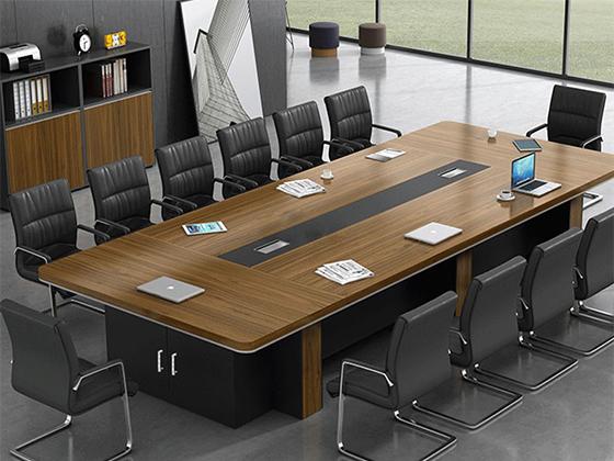 10人会议桌-会议桌尺寸-品源会议桌