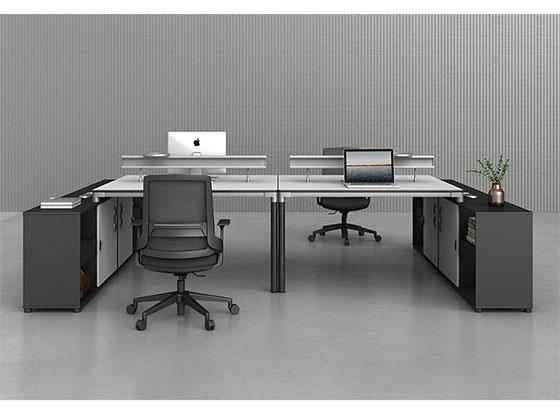 办公桌子隔断-屏风办公桌-品源办公桌