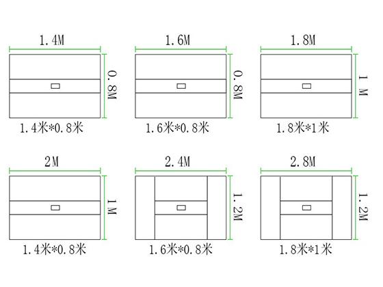 会议室办公桌定制尺寸-会议桌-品源会议桌