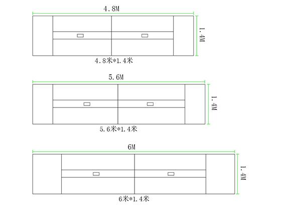 会议室办公桌尺寸-会议桌-品源会议桌