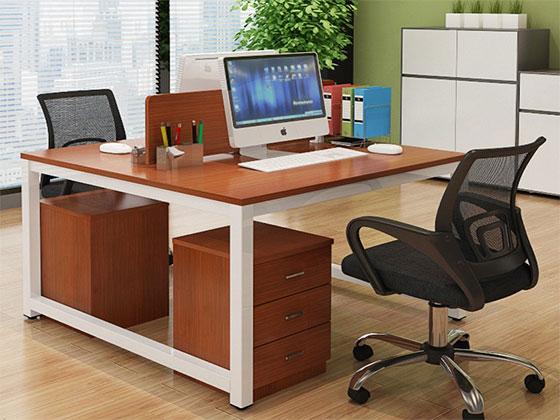 办公室四人办公桌尺寸-屏风式办公桌-品源办公桌