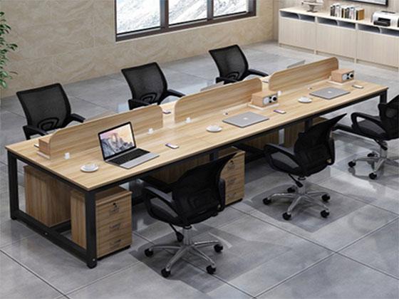 办公室四人办公桌尺寸-隔断式办公桌-品源办公桌