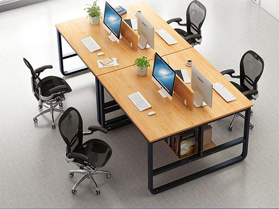 办公室隔断桌-屏风办公桌-品源办公桌
