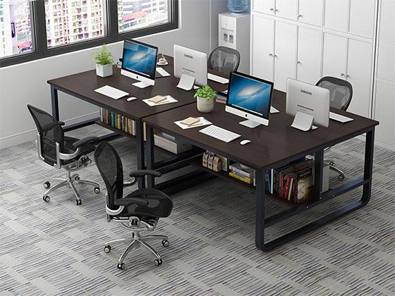 办公室隔离桌-隔断式办公桌-品源办公桌