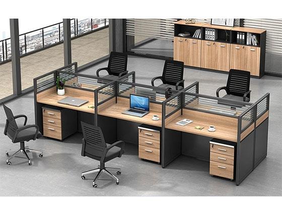 两人办公桌-屏风式办公桌-品源办公桌