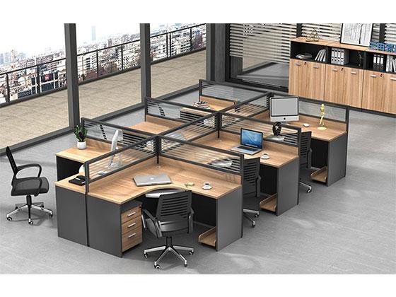 两人办公桌-隔断办公桌-品源办公桌