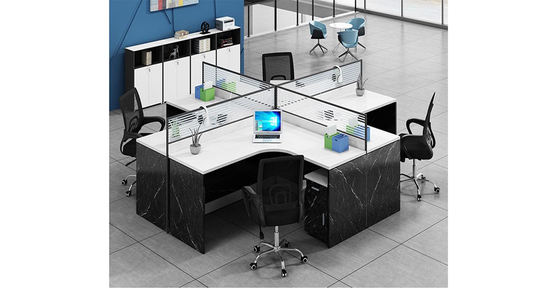 转角办公桌-屏风式办公桌-品源办公桌