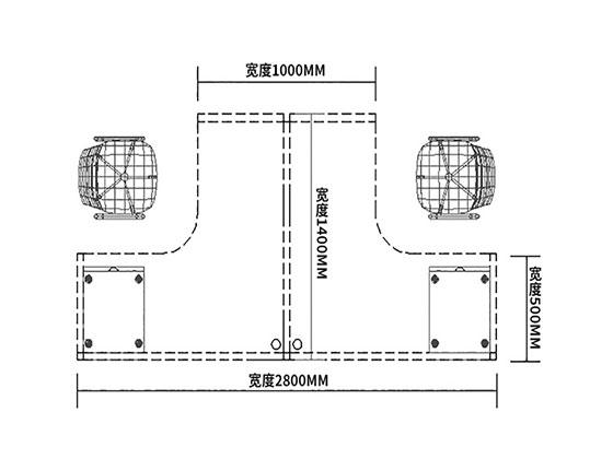 转角屏风办公桌尺寸-屏风办公桌-品源办公桌